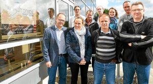 Une partie de l'équipe de Photonics Bretagne a rejoint au mois de juillet le futur Photonics Park, qui doit être opérationnel au printemps 2016.