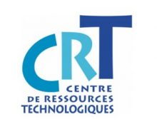 logo label CRT