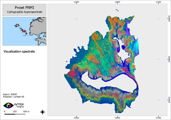 Vue-Spectrale-Archipel-de-Molène-hytech-imaging